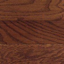 "Congress 5"" Solid Oak Hardwood Flooring in Burgundy"