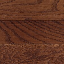 """Washington 3-1/4"""" Solid Oak Hardwood Flooring in Burgundy"""