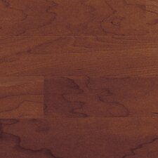 "Morton 5"" Engineered Cherry Hardwood Flooring in Black"