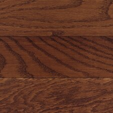 "Congress 2-1/4"" Solid White Oak Hardwood Flooring in Burgundy"