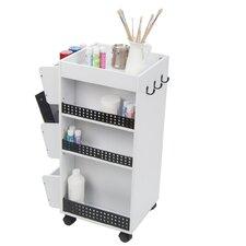 Swivel Organizer Utility Cart
