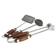 3 Piece Football BBQ Tool Set
