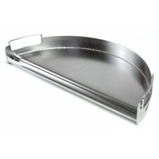 Pro Grill Half Circle Stainless Steel Griddle