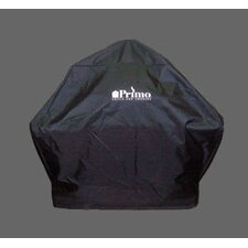 Grill Cover for XL Oval and Large Round Kamado Grill in Table