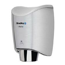 Surface-Mounted Sensor-Operated Hand Dryer with Cover in Stainless Steel