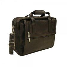 Entrepreneur Ultra Compact Leather Laptop Briefcase