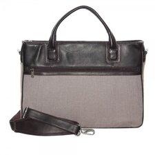 Leather Laptop Slim Briefcase