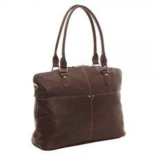 Leather Laptop Slim Executive Briefcase