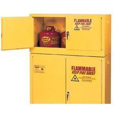 "43"" H x 22.25"" W x 18"" D 15 Gal. Flammable Liquid Storage Safety Cabinet"