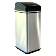 13-Gal. Deodorizer Automatic Touchless Trash Can