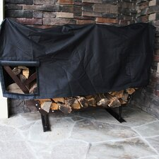 FireKing Modern Firewood Fire Pit Log Rack