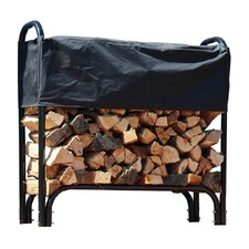 FireKing Firewood Fire Pit Log Rack