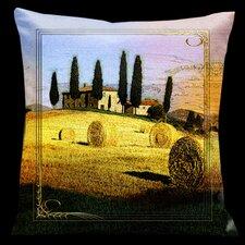 Como Gardens Microsuede Throw Pillow