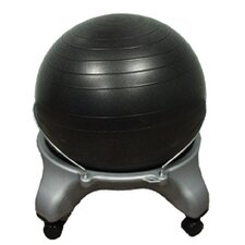 Plastic Mobile Ball Stool