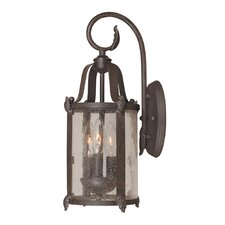 Old Sturbridge 3 Light Wall Lantern
