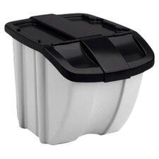 18 Gallon Storage Trends Industrial Recycling Bin