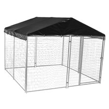 Lucky Dog™ Modular Welded Wire Yard Kennel