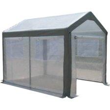 Spring Gardener 6 Ft. W x 8 Ft. D Polyethylene Gable Greenhouse