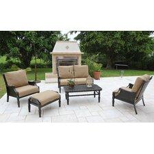 San Rafael Woven 5 Piece Deep Seating Group with Cushions