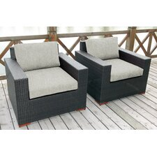 Pasadina 2 Pack Chair with Cushions Set of 2