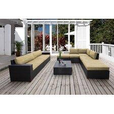Pasadina 8 Piece Lounge Seating Group with Cushion