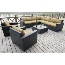 Pasadina 8 Piece Deep Seating Group with Cushion