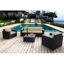 Pasadina 5 Piece Deep Seating Group with Cushion