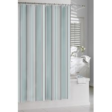 Cotton Capri Stripe Shower Curtain