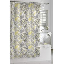 Cotton Paisley Shower Curtain