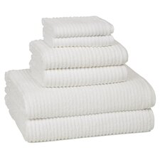 Urbane Turkish Cotton 6 Piece Towel Set