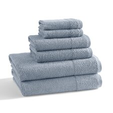 Naturel 6 Piece Towel Set