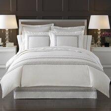 Letto Tribeka Bedding Sheet Set in White / Stone