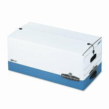Liberty Max Strength Storage Box, Letter, 12-1/4 x 24-1/8 x 10-3/4, WE/BE, 4/Ctn