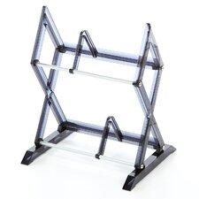 Mitsu 2 Tier Multimedia Tabletop Storage Rack