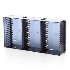 Disc Module 21 DVD/45 CD Multimedia Tabletop Storage Rack