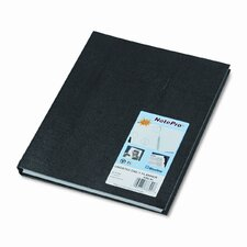 NotePro Undated Daily Planner, 11 x 8-1/2, Black, 2013
