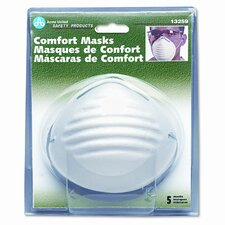 Comfort Dust Masks, 5 per Pack