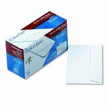 Grip-Seal Inside-Tint Business Envelopes,#6-3/4,White Wove,55/bx