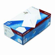 Gummed Flap Business Envelope, V-Flap, #6-3/4, White, 500/box