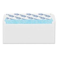 Grip-Seal Business Envelope, 4 1/8 x 9 1/2, 24 lb, White, 250/Box
