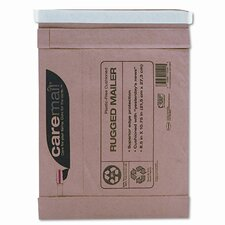 Caremail Rugged Padded Mailer, Side Seam, 8 1/2 x 10 3/4, Light Brown, 25/pack