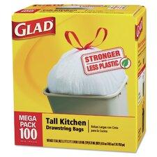 Tall-Kitchen Drawstring Bag - 100 Bags per Box / 1 Box