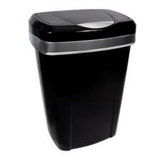 50-qt. Premium Touch Lid Wastebasket (Set of 2)