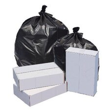 33W x 39H Repro Low-Density Can Liners 1.5 Mil in Black