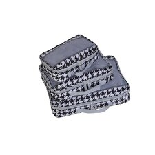 Houndstooth Perfect Packing System Garment Bag (Set of 3)