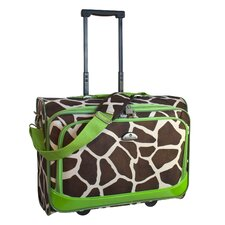 "Animal Print 17.5"" Underseater Boarding Tote"