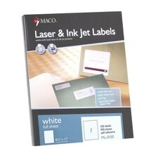 All-Purpose Labels, 100/Box