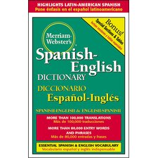 Merriam Websters Spanish English Book