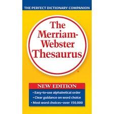 Merriam Websters Thesaurus Paperbck Book