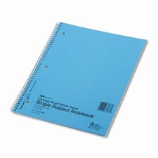 Subject Wire bound Notebook, 80 Sheets (Set of 2)